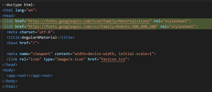 How to install Angular material and Angular Flex-box for